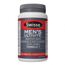 Swisse Men Ultivite 120s 男性复合维生素