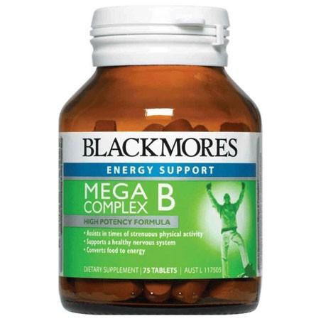 Blackmores megaB 澳佳宝维生素B绿瓶75粒