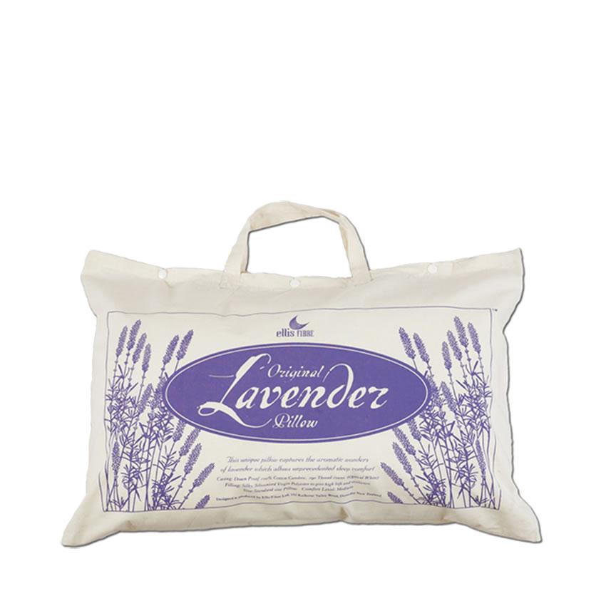包邮!ellis fibre lavender pillow薰衣草成人枕头
