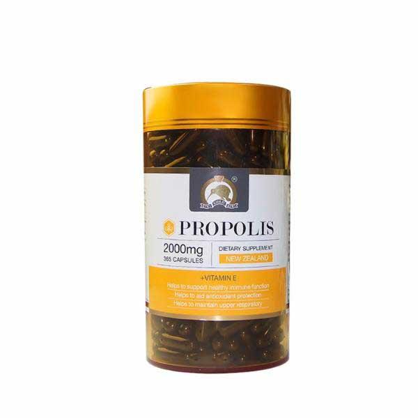 Kiwi Gold propolis 2000mg 365cap黑蜂胶