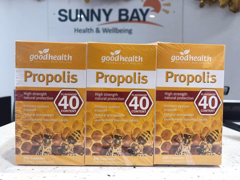 包邮【增强免疫力】好健康高含量极品蜂胶200粒*3